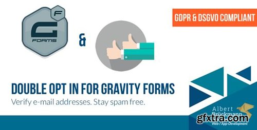 CodeCanyon - Double Opt in for Gravity Forms v1.6.1 (GDPR & DSGVO compliant) - E-Mail Address Verification - 17809351