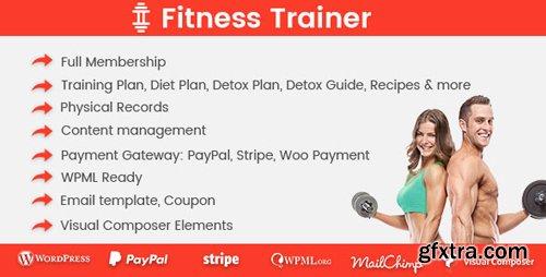 CodeCanyon - Fitness Trainer v1.1.9 - Training Membership Plugin - 19901278