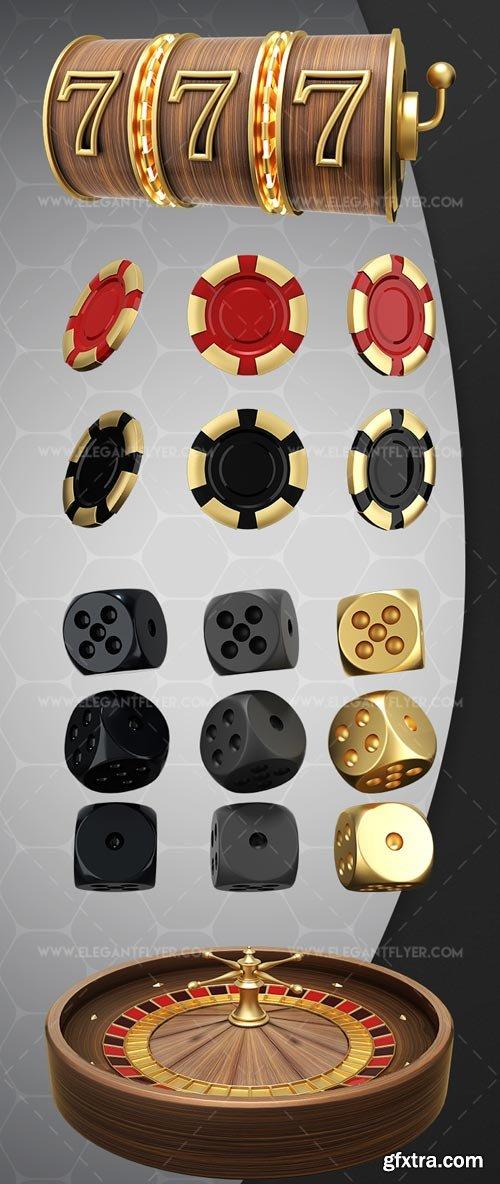 Casino V1 2018 3d Render Templates