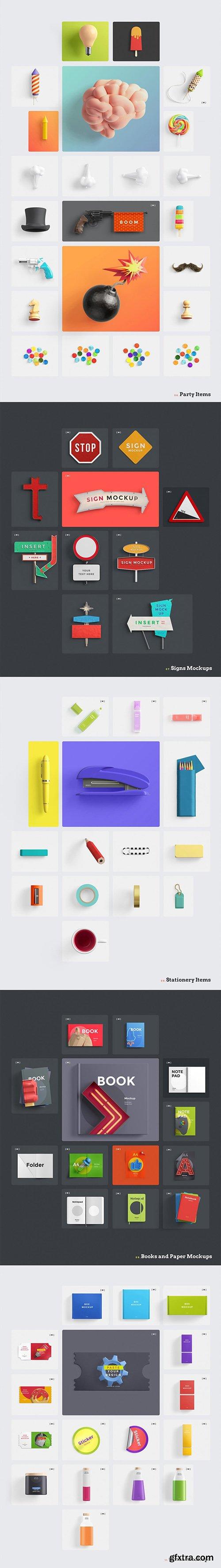 OhMy! Designer's Toolkit Easily Build Creative Scenes in Photoshop