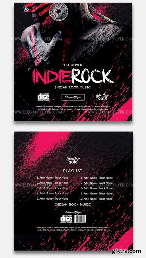 Indie Rock V7 2018 CD Cover