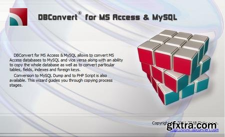 DBConvert for Access and MySQL 8.3.6 Multilingual