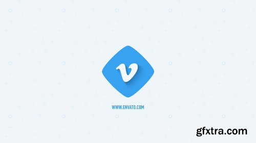 Videohive Flat Logo Opener 19317348