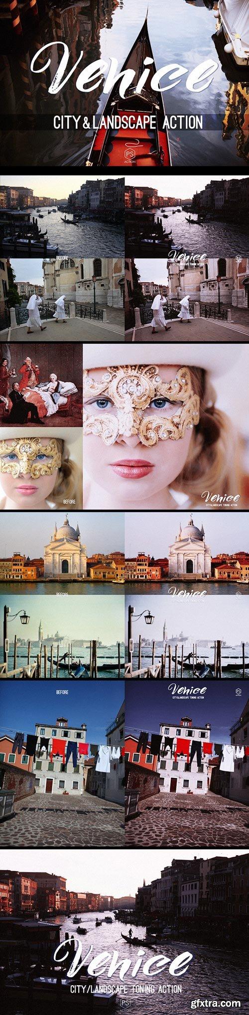 GraphicRiver - Venice Landscape Photoshop Action - atmospheric toning for urban, cityscape & landscape photography - 15562778