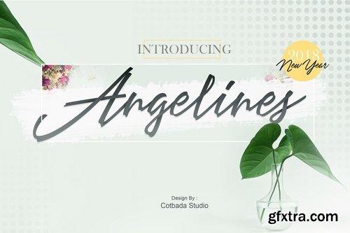CM - Angelines Script (50% Off) 2140665