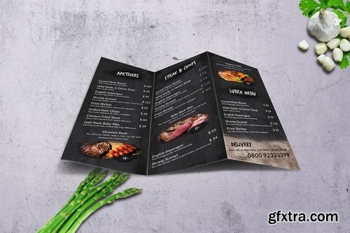 There\'s no Hell Tri-Fold Menu A4 & US Letter