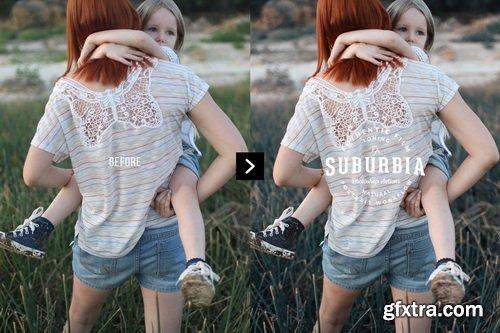 Suburbia Photoshop Actions