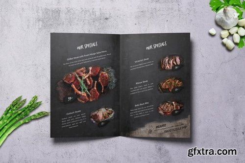 There\'s no Hell Bifold A4 & US Letter Menu