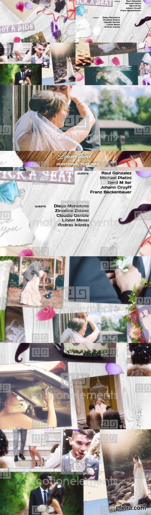 MotionElements - Wedding Pack - 11346308