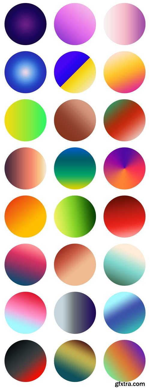24 Gradients For Photoshop