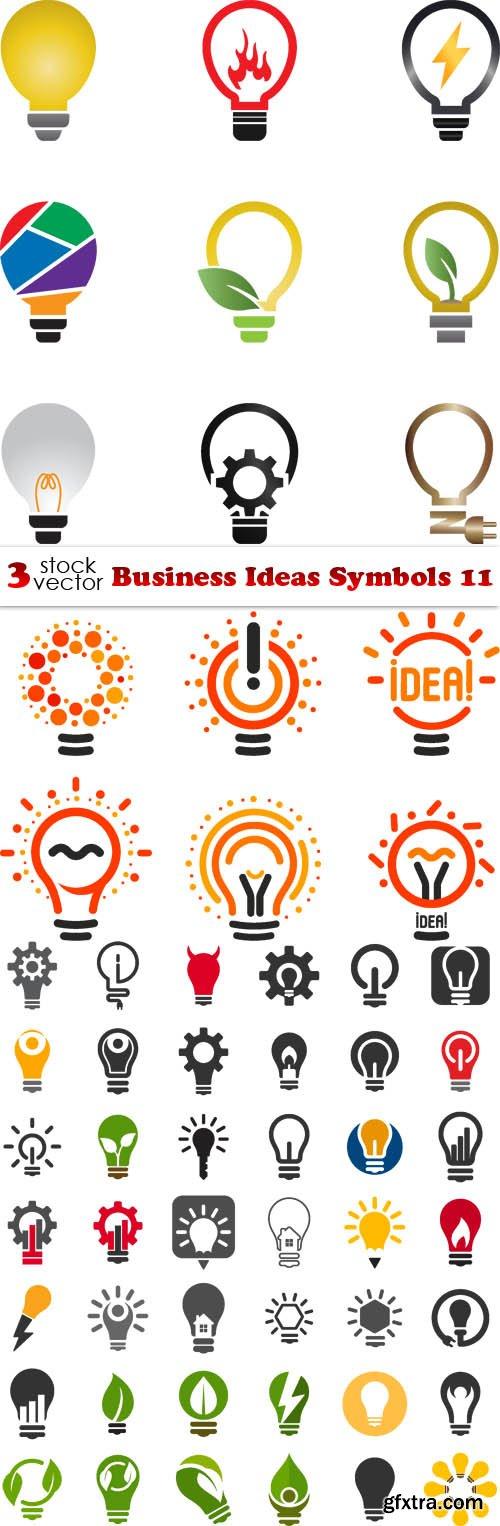 Vectors - Business Ideas Symbols 11