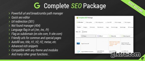 Complete SEO Package v4.1.4 - the best seo extension for opencart - NULLED