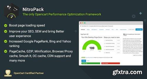 NitroPack Cache v3.5.8 - Complete Performance Optimization Framework - OpenCart Module