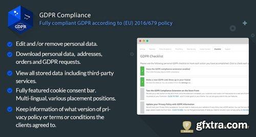 GDPR Compliance v3.4.1 - GDPR Compliance for OpenCart Merchants