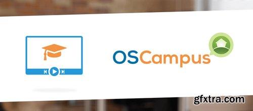 OSCampus Pro v1.2.4 - Joomla LMS