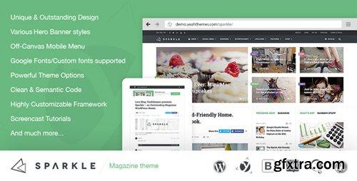 ThemeForest - Sparkle v2.2 - Outstanding Magazine theme for WordPress - 7815919