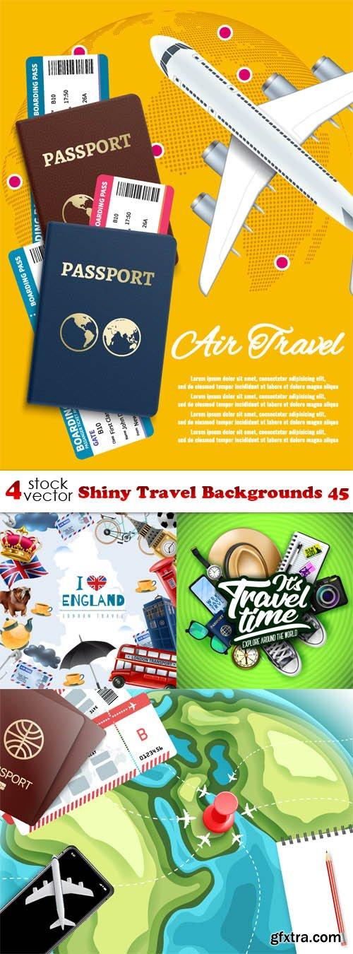 Vectors - Shiny Travel Backgrounds 44