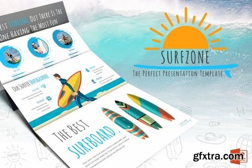 Surfzone - Powerpoint Template