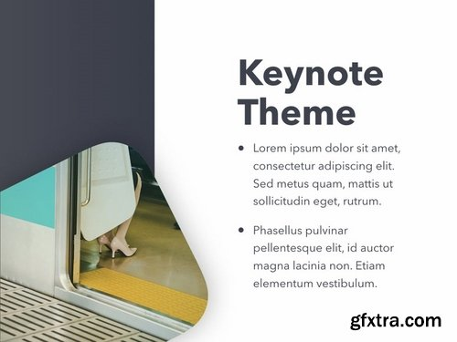 Color Express Keynote Template