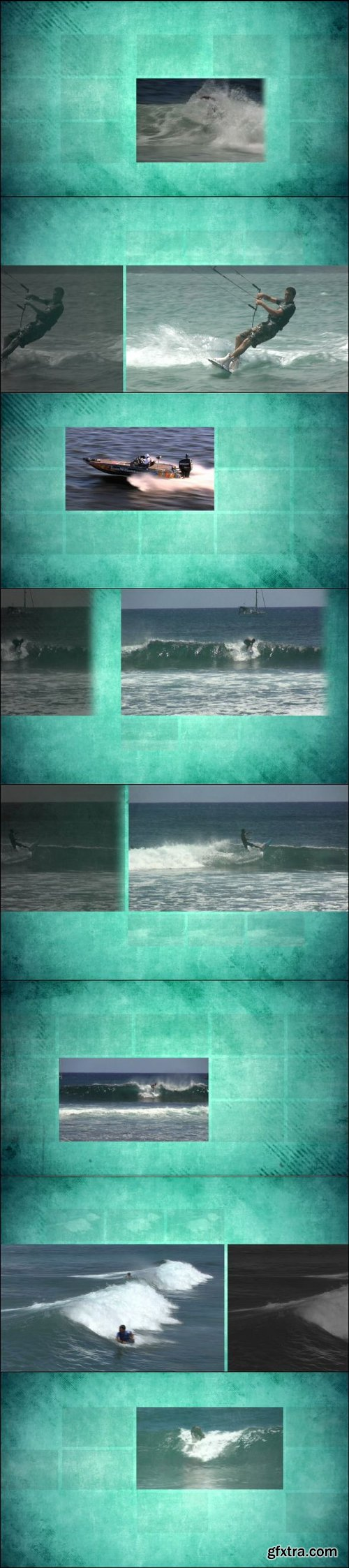 Aqua Sports Motion Apple Motion