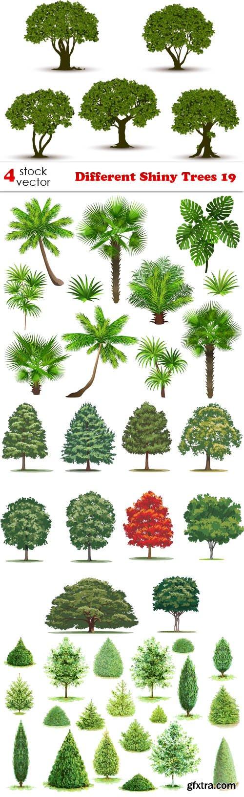 Vectors - Different Shiny Trees 19