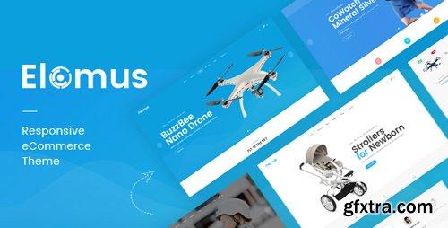 ThemeForest - Elomus v1.0 - Single Product OpenCart Theme - 22266452