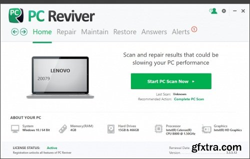 ReviverSoft PC Reviver 3.4.0.20 Multilingual