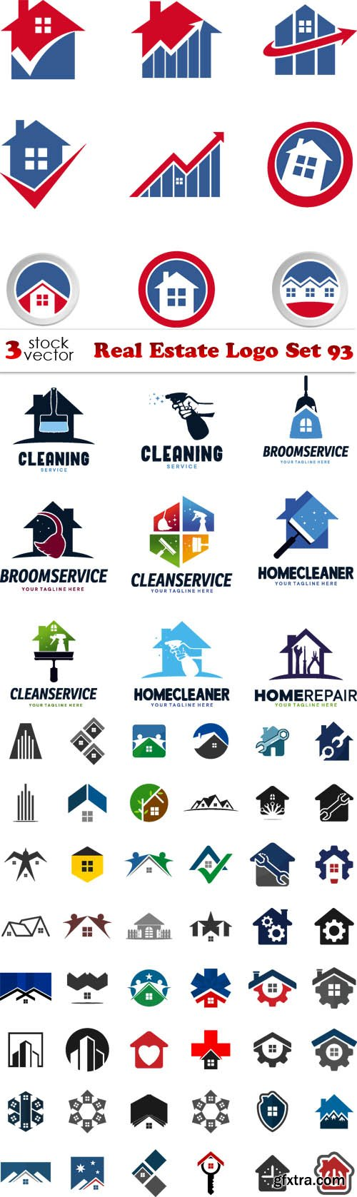 Vectors - Real Estate Logo Set 93