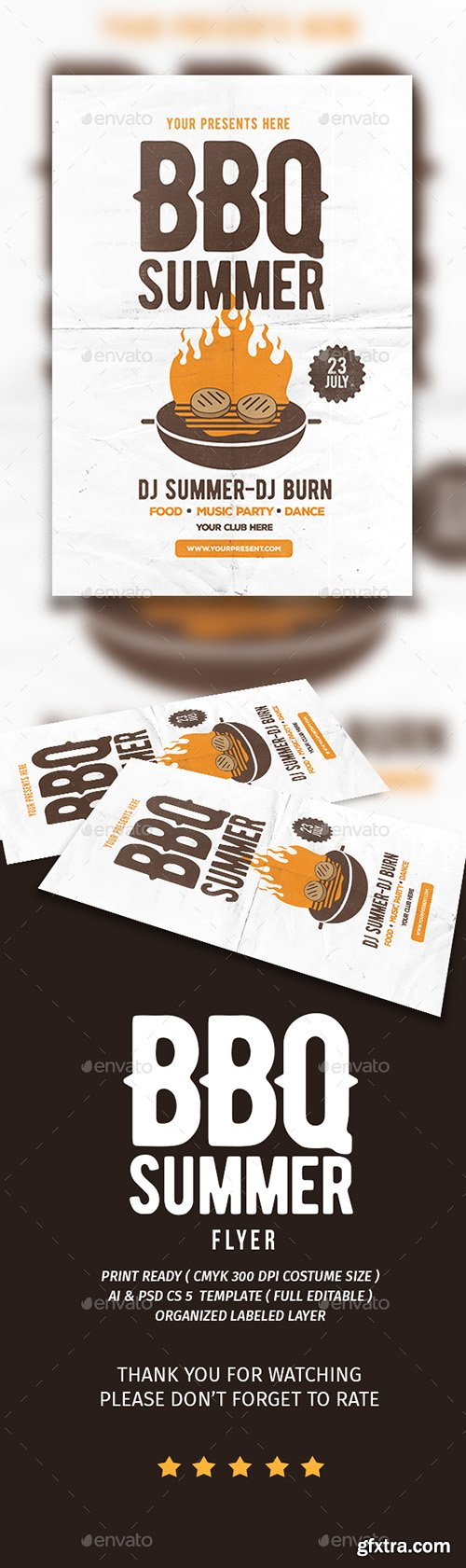 BBQ Summer Flyer 16812206