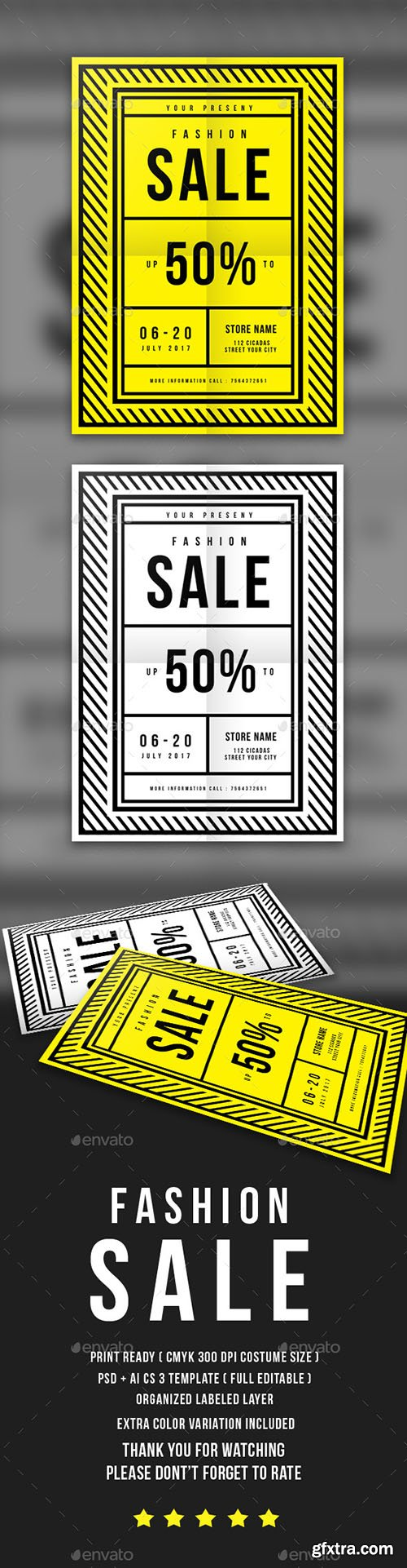 Fashion Sale Flyer 16832021