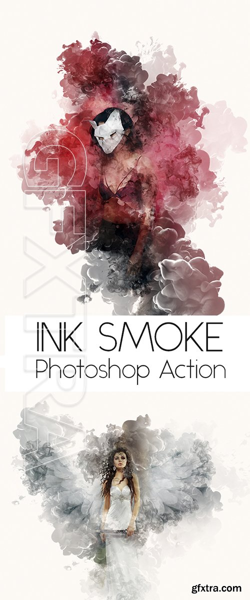GraphicRiver - Ink Smoke Action 22176798
