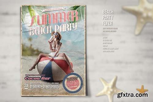 CreativeMarket - Party Flyer 2739533