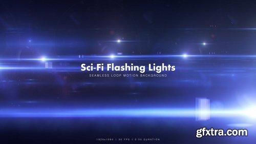 Videohive Sci-Fi Flashing Lights 12508184