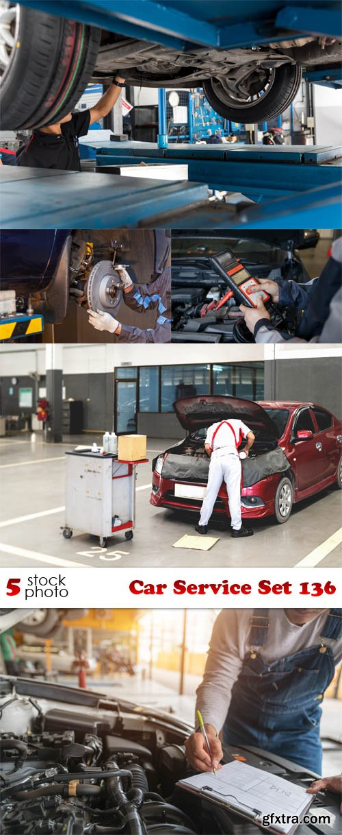 Photos - Car Service Set 136