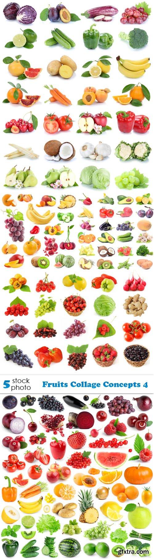 Photos - Fruits Collage Concepts 4