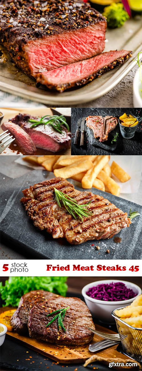 Photos - Fried Meat Steaks 45