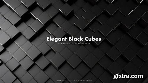 Videohive Elegant Black Cubes 3 19556964