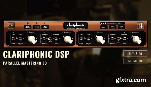 Kush Audio Clariphonic DSP mkI v1.1.1 AU VST MAC OSX x64-iND