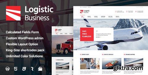 ThemeForest - Logistic Business v1.0.8 - Transport & Trucking Logistics WordPress Theme - 16043660