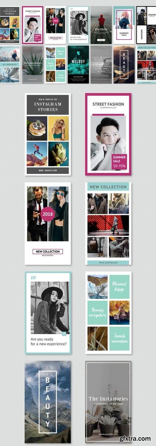 Videohive - Instagram Stories Minimal Pack - 22130025