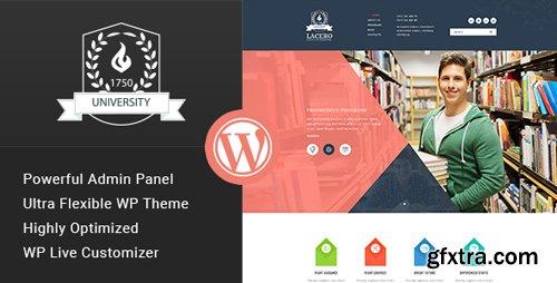 ThemeForest - Lacero v1.3 - Education & University WordPress Theme - 15671099