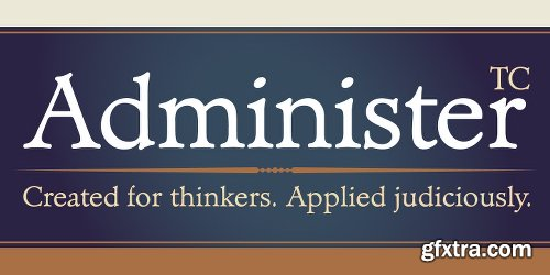 Administer Family - 8 Fonts