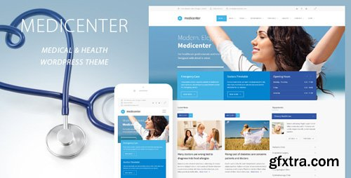 ThemeForest - MediCenter v10.0 - Health Medical Clinic WordPress Theme - 4718613