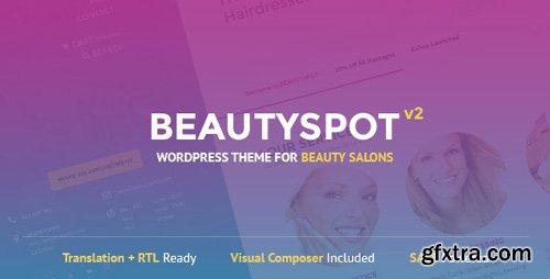 ThemeForest - BeautySpot v2.4.4 - WordPress Theme for Beauty Salons - 8020062