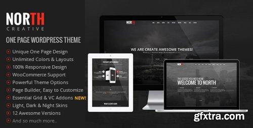 ThemeForest - North v3.99.5 - One Page Parallax WordPress Theme - 8454561