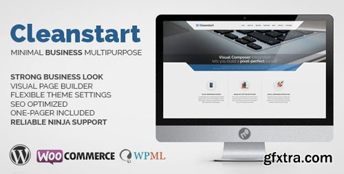 ThemeForest - CLEANSTART v1.5.7 - Business - Multipurpose Business Theme - 8981419