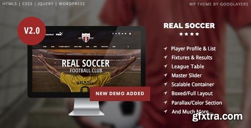 ThemeForest - Real Soccer v2.20 - Sport Clubs Responsive WP Theme - 8888574