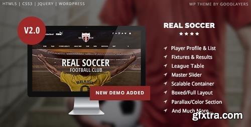ThemeForest - Real Soccer v2.20 - Sport Clubs Responsive WP Theme - 8888574