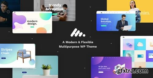 ThemeForest - Moody v1.4.5 - A Modern Flexible Multipurpose WordPress Theme - 20524765