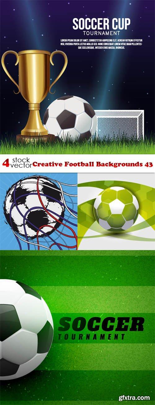 Vectors - Creative Football Backgrounds 43